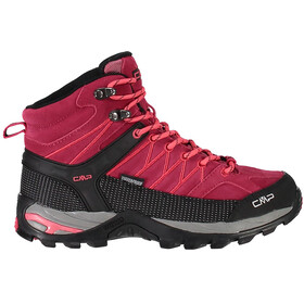 CMP Campagnolo Rigel Mid WP Chaussures de trekking Femme, granita/corallo
